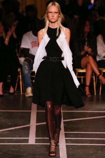 Harleth Kuusik - Givenchy Spring 2015