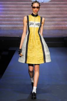 Alexandra Agoston - Jean Paul Gaultier Spring 2015