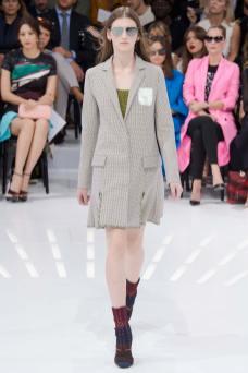 Anka Kuryndina - Christian Dior Spring 2015