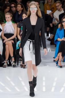 Ondria Hardin - Christian Dior Spring 2015