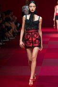 Luping Wang - Dolce & Gabbana Spring 2015 Koleksiyonu