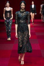 Anja Leuenberger - Dolce & Gabbana Spring 2015 Koleksiyonu