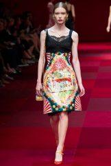 Julia Hafstrom - Dolce & Gabbana Spring 2015 Koleksiyonu