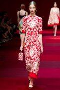Lexi Boling - Dolce & Gabbana Spring 2015 Koleksiyonu