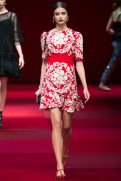Taylor Hill - Dolce & Gabbana Spring 2015 Koleksiyonu