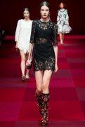 Clarine de Jonge - Dolce & Gabbana Spring 2015 Koleksiyonu