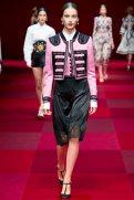 Julia Bergshoeff - Dolce & Gabbana Spring 2015 Koleksiyonu
