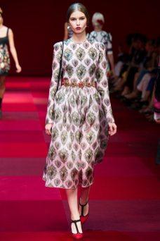 Roxy Kiscinska - Dolce & Gabbana Spring 2015 Koleksiyonu