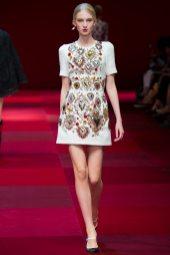 Nastya Sten - Dolce & Gabbana Spring 2015 Koleksiyonu