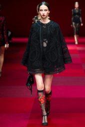 Waleska Gorczevski - Dolce & Gabbana Spring 2015 Koleksiyonu