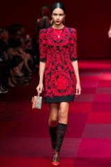 Binx Walton - Dolce & Gabbana Spring 2015 Koleksiyonu