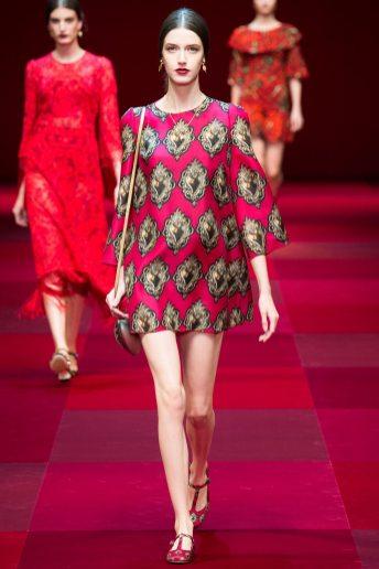 Josephine van Delden - Dolce & Gabbana Spring 2015 Koleksiyonu