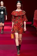 Antonina Vasylchenko - Dolce & Gabbana Spring 2015 Koleksiyonu