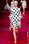 Harleth Kuusik - Dolce & Gabbana Spring 2015 Koleksiyonu