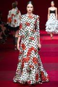 Stasha Yatchuk - Dolce & Gabbana Spring 2015 Koleksiyonu