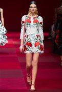 Deimante Misiunaite - Dolce & Gabbana Spring 2015 Koleksiyonu