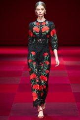 Ondria Hardin - Dolce & Gabbana Spring 2015 Koleksiyonu