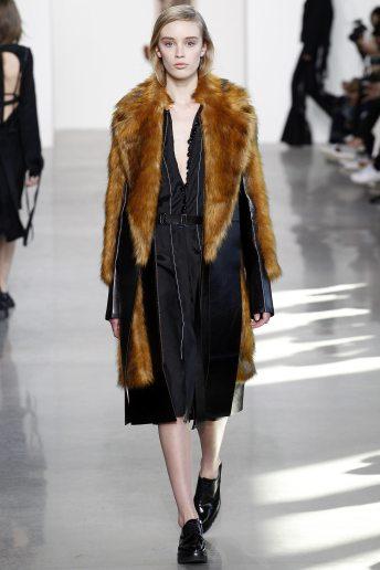 Olivia Jones - Calvin Klein Collection Fall 2016 Ready to Wear