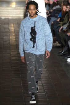 Kendall Harrison - Alexander Wang Fall 2016 Ready-to-Wear