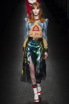 Nika Cole - Gucci Fall 2016 Ready-to-Wear