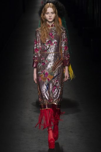 Madison Stubbington - Gucci Fall 2016 Ready-to-Wear