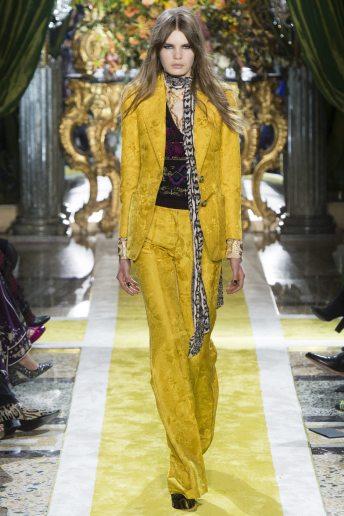 Sophie Rask - Roberto Cavalli Fall 2016 Ready-to-Wear