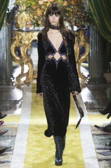 Mayka Merino - Roberto Cavalli Fall 2016 Ready-to-Wear