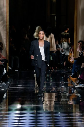 Olivier Rousteing - Balmain Fall 2016 Ready-to-Wear