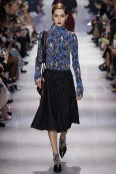 Teddy Quinlivan - Christian Dior Fall 2016 Ready-to-Wear