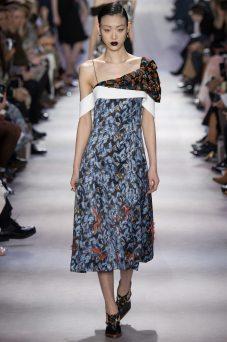 Sora Choi - Christian Dior Fall 2016 Ready-to-Wear
