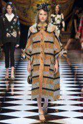 Kirin Dejonckheere - Dolce & Gabbana Fall 2016 Ready-to-Wear