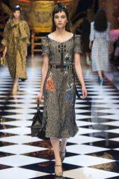 Romy Schoenberg - Dolce & Gabbana Fall 2016 Ready-to-Wear