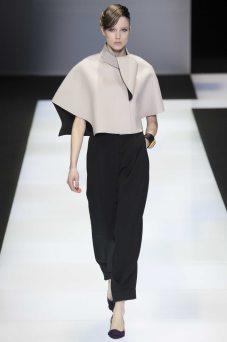 Quirine Engel - Emporio Armani Fall 2016 Ready-to-Wear