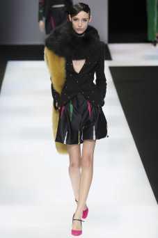 Andjela Ilic - Emporio Armani Fall 2016 Ready-to-Wear