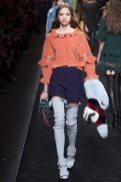 Cassandra Van Waveren - Fendi Fall 2016 Ready-to-Wear