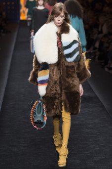 Lexi Boling - Fendi Fall 2016 Ready-to-Wear