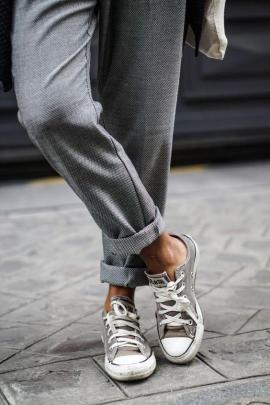 Kumaş Pantolon Kombinleri