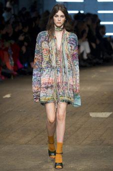 Vittoria Ceretti - Missoni Fall 2016 Ready-to-Wear