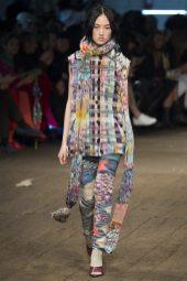 Jing Wen - Missoni Fall 2016 Ready-to-Wear