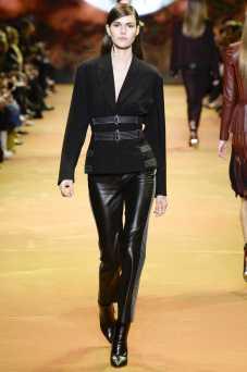 Vanessa Moody - Mugler Fall 2016 Ready-to-Wear