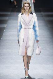 Julia Nobis - Versace Fall 2016 Ready-to-Wear