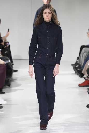 Camille Hurel - Calvin Klein Fall 2017 Ready-to-Wear