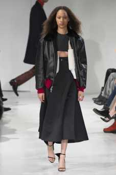 Selena Forrest - Calvin Klein Fall 2017 Ready-to-Wear