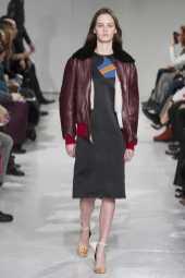 Lea Holzfuss - Calvin Klein Fall 2017 Ready-to-Wear