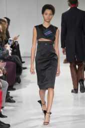 Lineisy Montero - Calvin Klein Fall 2017 Ready-to-Wear