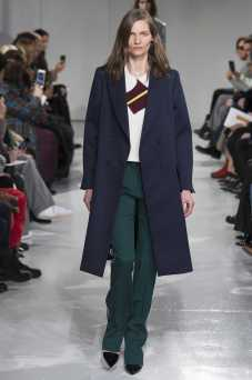 Karolin Wolter - Calvin Klein Fall 2017 Ready-to-Wear