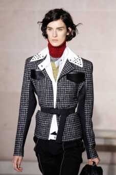 Marte Mei van Haaster - Louis Vuitton Fall 2017 Ready-to-Wear
