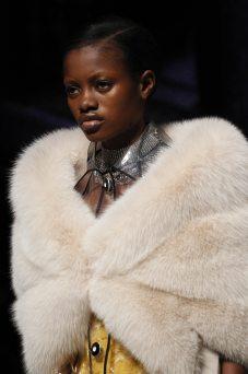 Elizabeth Ayodele - Miu Miu Fall 2017 Ready-to-Wear