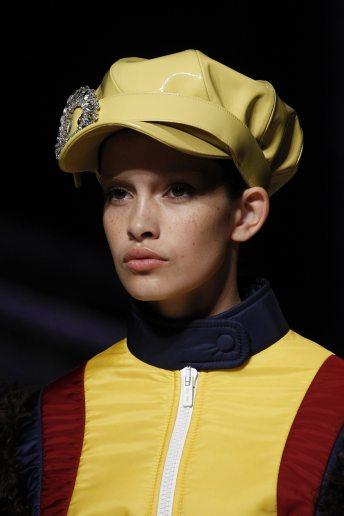 Zoe Barnard - Miu Miu Fall 2017 Ready-to-Wear