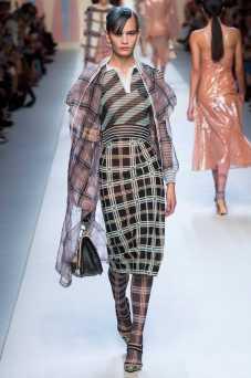 Nina Marker - Fendi Spring 2018 Ready-to-Wear